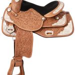 14inch to 16inch Royal King Seven Oaks Silver Show Saddle 851