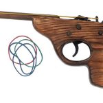 Wooden Rubber Band Gun 87-89403 (HSS)