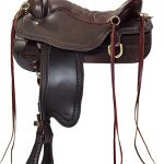 15.5inch to 18.5inch Tucker Cheyenne Frontier Trail Saddle 167