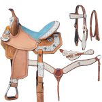 13inch to 16inch Silver Royal Desert Hope Barrel Saddle Package 9sr273