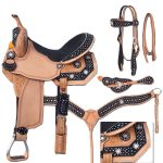 13inch to 16inch Silver Royal High Noon Barrel Saddle Package 9sr276