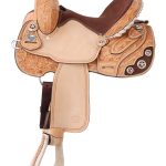13.5Silver Royal Lamar All Around Barrel Saddle