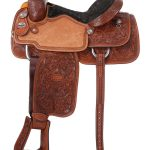 15inch to 16inch Silver Royal Rising Star Calf Roper Saddle 300