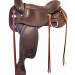 16inch 17inch Tex Tan Franklin Flex Trail Saddle 292TF515
