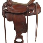 15inch to 17inch Tex Tan Seminole Flex Trail Saddle 292TF484