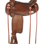 16inch 17inch Tex Tan Tuscaloosa Flex Gaited Trail Saddle 292TF488