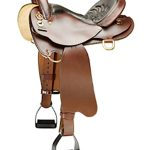 16inch to 18inch The Tennessean Lite-Rider Saddle With Horn 5367