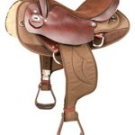 15.5inch 16.5inch Tennessean Cordura Nylon/Leather Endurance Saddle 2936