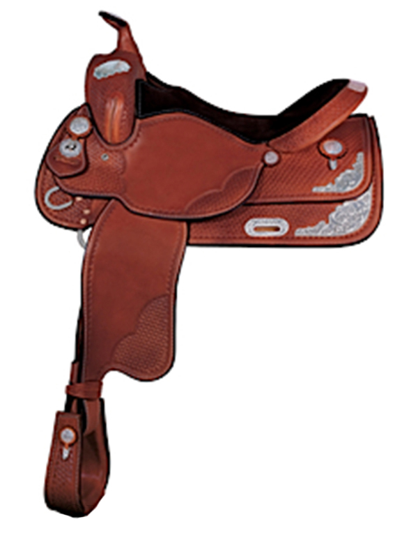 15 5inch 16 5inch The Silver Tennessean Show Saddle 2621