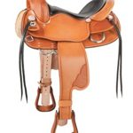 15.5inch 16.5inch The Tennessean Supreme Golden Saddle 7239