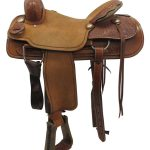 16inch Used Big Horn Medium Ranch Saddle_ Floor Model usbh3371