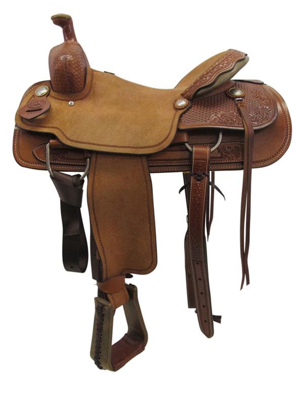 used-big-horn-medium-ranch-saddle-usbh3371