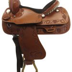 14.5 Used Big Horn Medium Trail Saddle_ Floor Model usbh3353