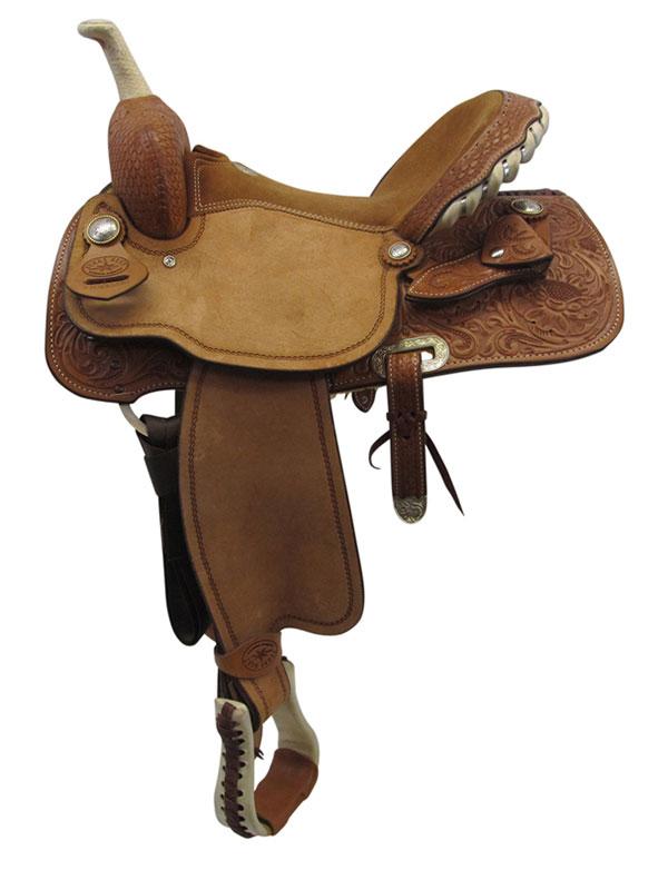 used-big-horn-wide-barrel-saddle-usbh3362