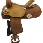 15inch Used Big Horn Wide Barrel Saddle_ Floor Model usbh3365
