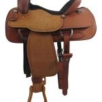 16inch Used Big Horn Wide Roper Saddle_ Floor Model usbh3354