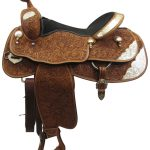 17inch Used Billy Cook Greenville Wide Show Saddle_ Floor Model usbi3364
