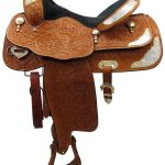 16inch Used Billy Cook Greenville Wide Show Saddle 934
