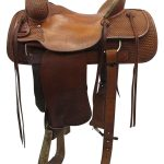 15.5inch Used Billy Cook Wide Ranch Saddle 2048