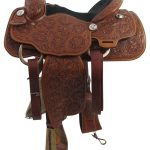 14inch Used Billy Cook Wide Roping Saddle_ Floor Model usbi3359
