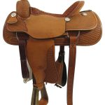 16inch Used Billy Cook Wide Roping Saddle_ Floor Model usbi3358