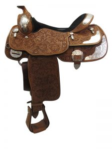 used-billy-cook-wide-show-saddle-usbi3397