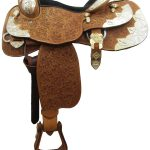 15inch Used Circle G Show Saddle_ Wide Tree