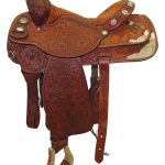 15.5inch Used Circle Y Custom Wide Pleasure Saddle