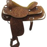 16inch Used Circle Y Medium Show Saddle uscy3378