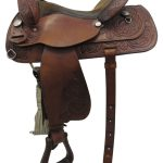 15inch Used Custom Medium Trail Saddle 9210