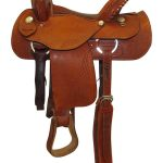 15inch Used Dakota Medium Trail Saddle 350L