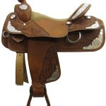 16inch Used Double J Show Saddle_ Wide Tree Pleasure