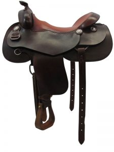 17inch Used Pards Custom Wide Reiner Saddle | Western Saddle