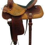 15inch Used Reinsman Wide Barrel Saddle 4267