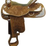 16inch Used Reinsman Silver Series Medium Show Saddle usrs3344