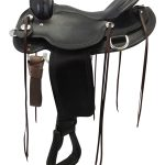 16inch Reinsman Wide Trail Saddle_ Floor Model usrs3316