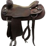 17inch Used Saddlesmith Custom Wide Cutting Saddle