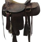 15inch Used Shoup Medium Roping Saddle 7653