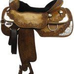 16inch Used Silver Mesa Show Saddle_ Wide Tree 3230042