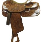Used 15inch Silver Mesa Show Saddle ussm3299