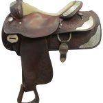 15.5inch Used Silver Royal Show Saddle