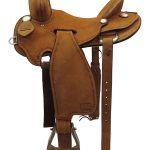 16inch Used Teskeys Custom Medium Ranch Saddle