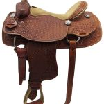 16inch Used Teskeys Custome Medium Roper Saddle