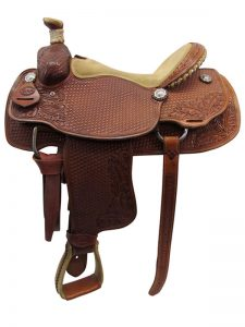 used-teskeys-custome-medium-roper-saddle-usts3387