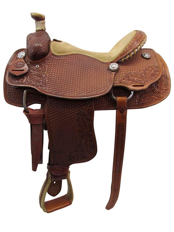used-teskeys-custome-medium-roper-saddle-usts3387
