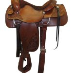16inch Used Tex Tan Medium Roper Saddle 1339 I 57-70915