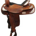 16inch Used Tex Tan Medium Show Saddle 08-1562