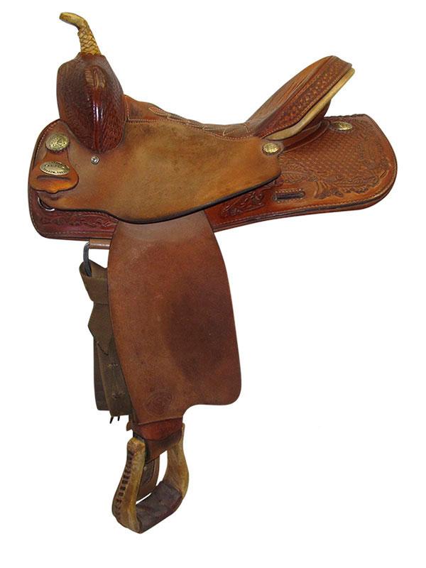 used-text-tan-medium-barrel-saddle-ustt3453