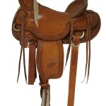 15.5inch_ 16inch Billy Cook Wade Ranch Mule Saddle 2285