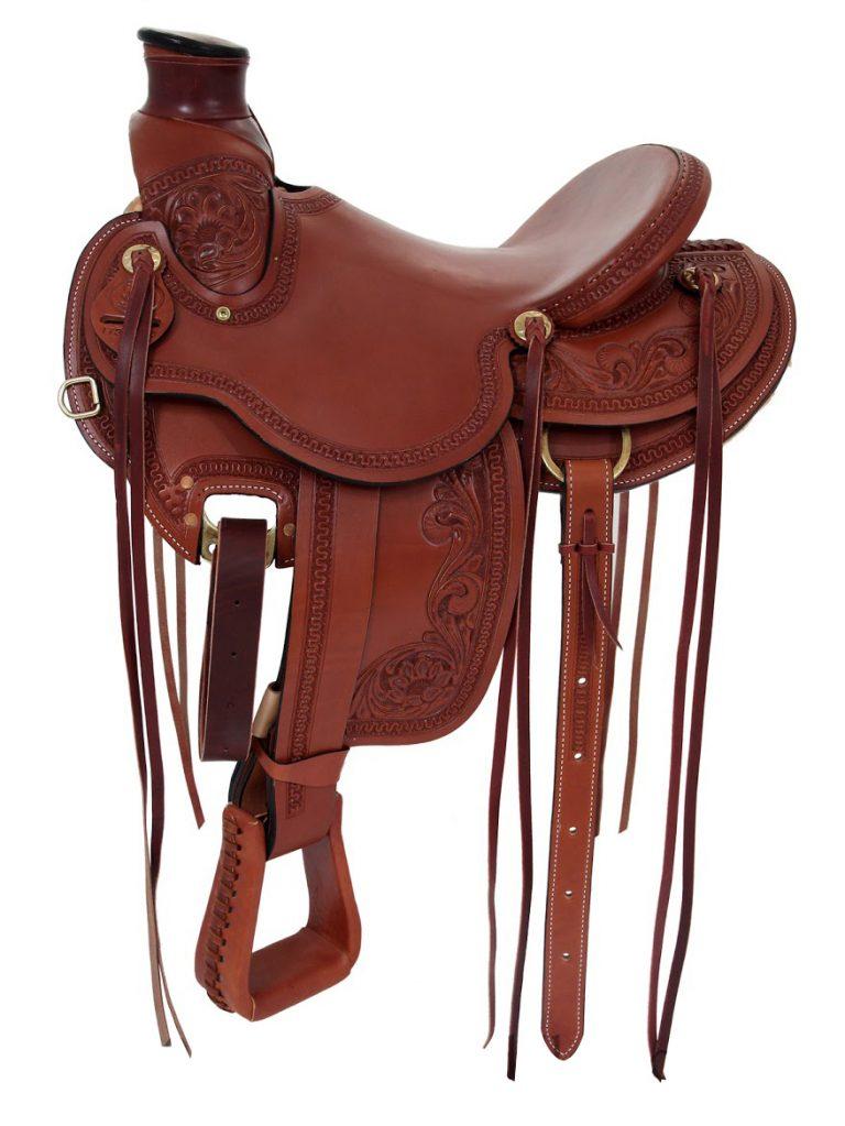 Rocking R Wade Tree Ranch Saddle | Western Saddle Store